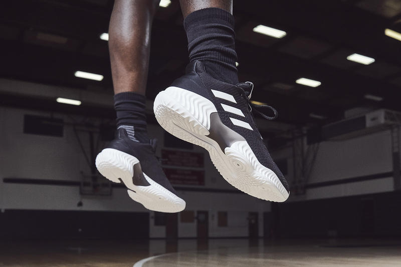 cheap for discount 8aeb9 beb67 adidas basketball pro bounce mad bounce footwear october 2018 Donovan  Mitchell Zach LaVine Kristaps Porzingis Chiney