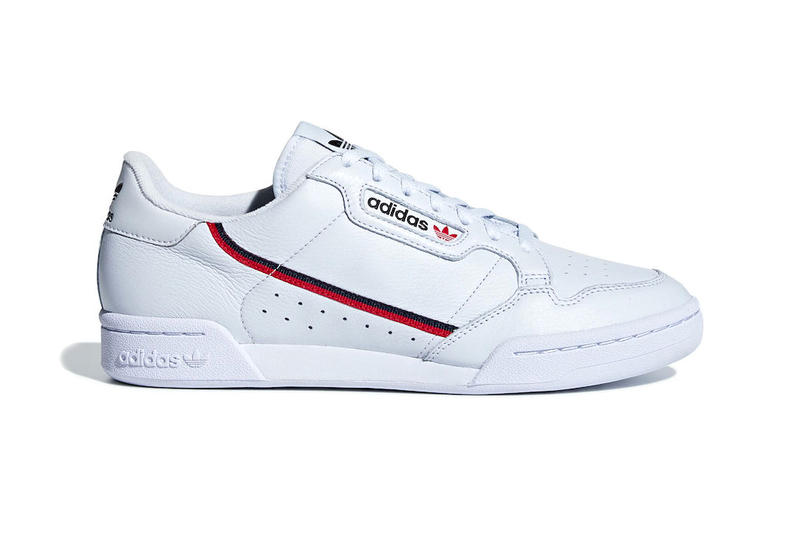 dc7233f2655f adidas Continental 80 Aero Blue release info sneakers scarlet Collegiate  Navy