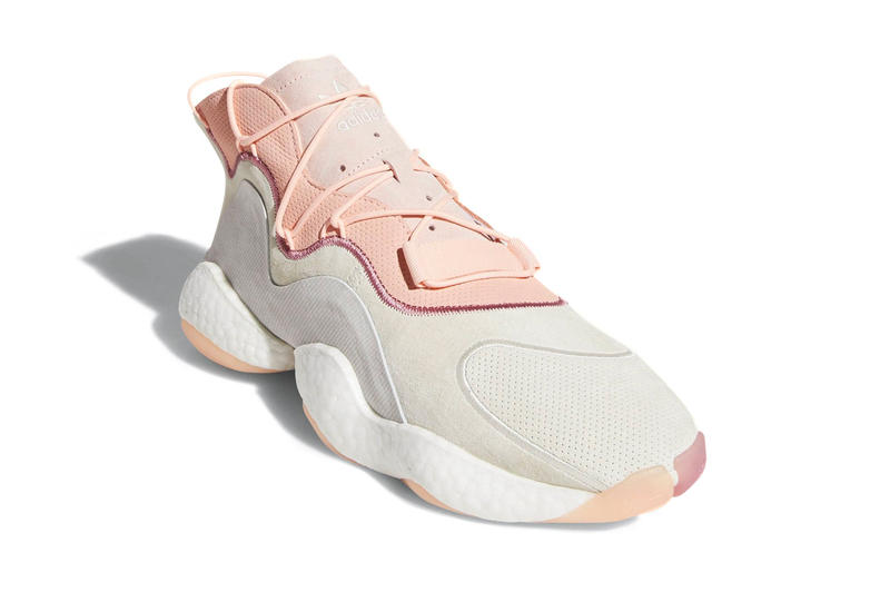 """adidas Crazy BYW in """"Nude"""" Colorway Pharrell William adidas yeezy sneaker shoes basketball NBA"""