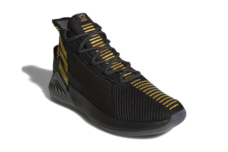 new styles 1ce27 56566 adidas D Rose 9 Shoe sneaker drop date Derrick Rose black gold
