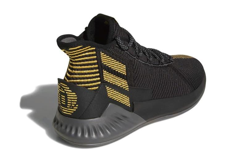 adidas D Rose 9 Shoe sneaker drop date Derrick Rose black gold