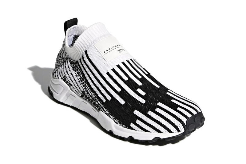save off 98f0d 0515b adidas EQT Support Sock Primeknit Release Cloud White Core Black