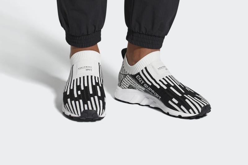 0f59e343c618d adidas EQT Support Sock Primeknit Release Cloud White Core Black