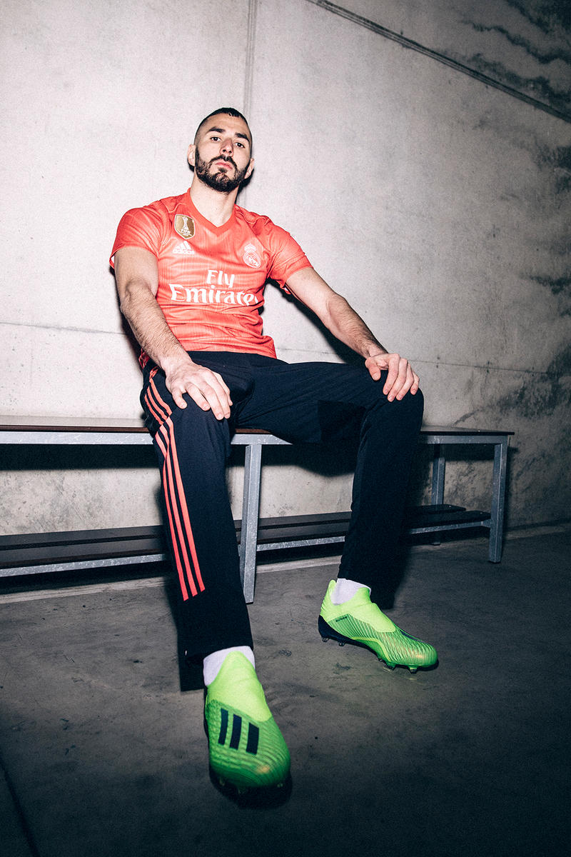 adidas Football Real Madrid Third Jersey Kit 2018 19 Cop Purchase Buy Karim  Benzema Gareth 1651a9c80