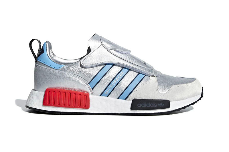 adidas Micro R1 Micropacer NMD R1 metallic silver BOOST release info sneakers