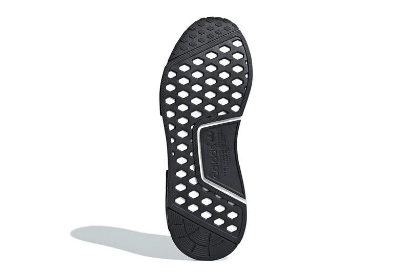 adidas NMD R1 Camo Heel White Grey Black