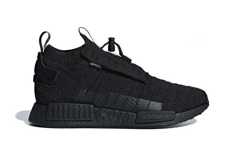 c67c833799c adidas NMD TS1 GORE-TEX Triple Black first look sneakers
