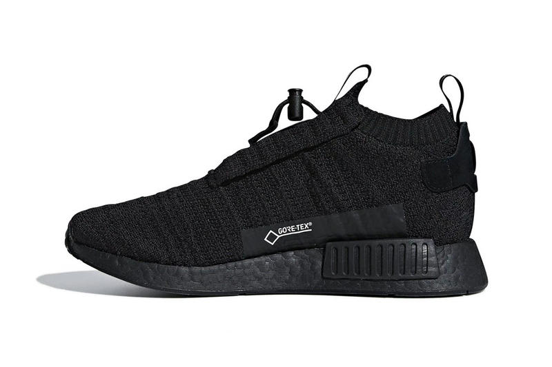 adidas NMD TS1 GORE-TEX Triple Black first look sneakers