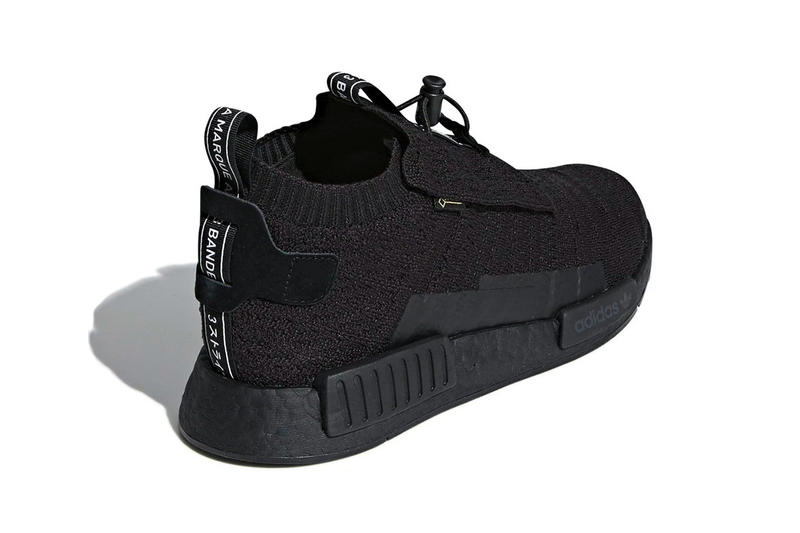 e21db8234e4 adidas NMD TS1 GORE-TEX Triple Black first look sneakers