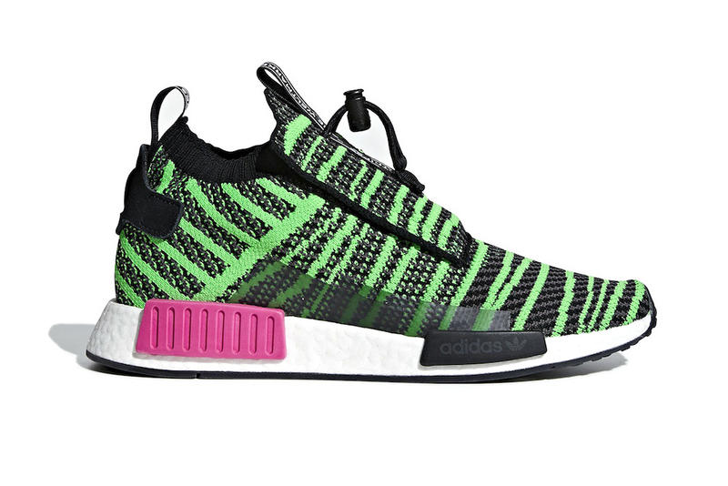 adidas NMD TS1 Shock Lime release info sneakers black grey pink