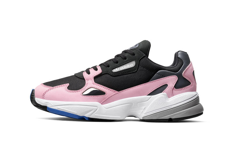 adidas Originals Falcon Dorf Runner Pink First Look Cop Purchase Buy Footwear Sneakers Kicks Trainers Shoes Release Details Date Available Soon Kylie Jenner Campaign Womens