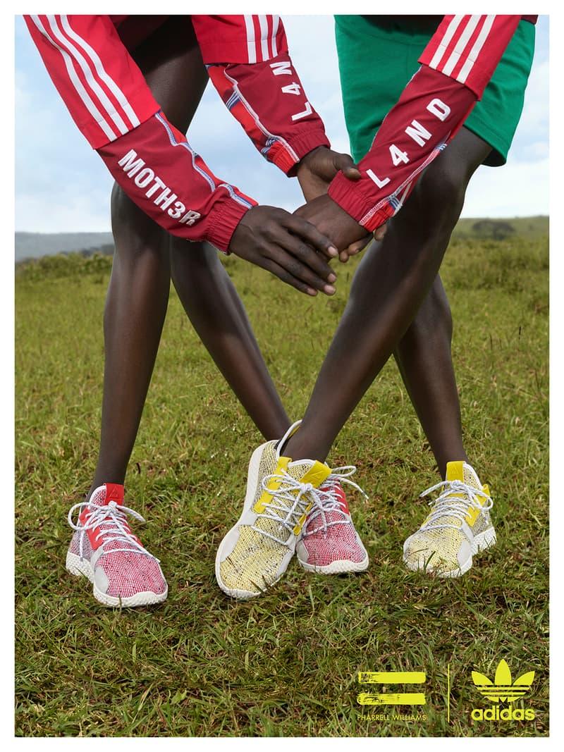 39effe9af adidas Originals Pharrell Williams SOLARHU Lookbook Trainers Kicks Shoes  Footwear Sneakers Cop Purchase Buy Available Soon