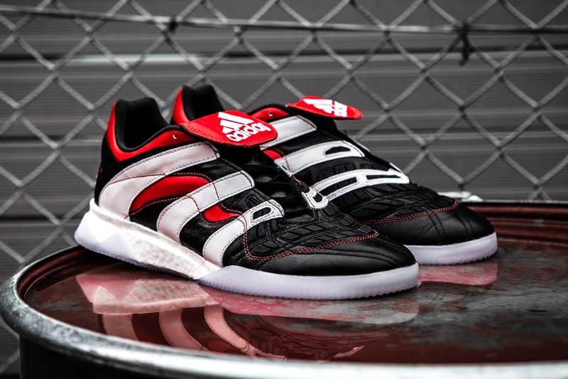 "adidas Predator Accelerator ""Core Black"" Release sneaker football boot cleats date price david beckham"