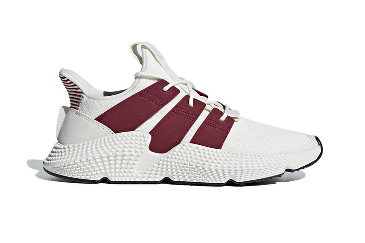 """adidas Blends """"Cloud White""""   """"Noble Maroon"""" on New Prophere Model 558d7c51f"""
