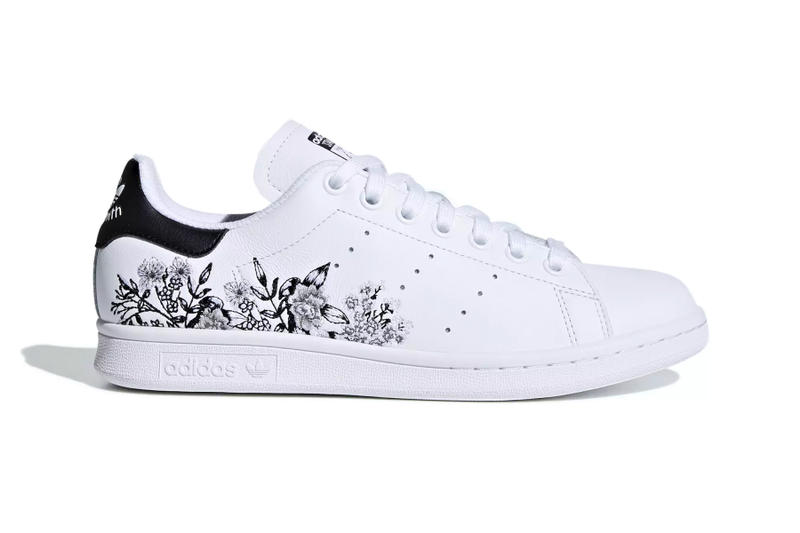 e708258b24a98 adidas Stan Smith floral flower embroidery white black orange yellow pink  red release info