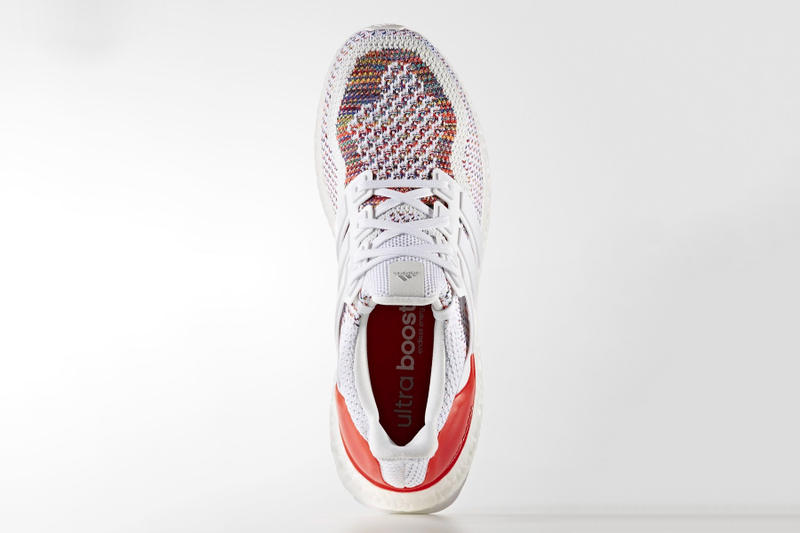 """adidas UltraBOOST """"Multicolor 2.0"""" Release Date colorway white sneaker multicolor red price info buy online purchase"""