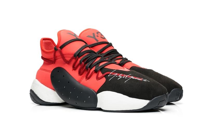 926d1e1240c7 adidas Y-3 BYW BBall Lush Red Release Black White Yohji Yamamoto James  Harden