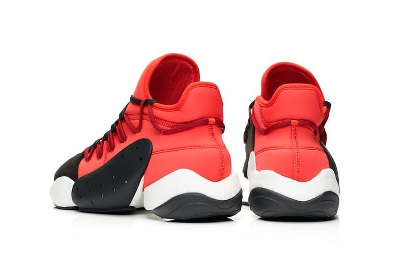 adidas Y-3 BYW BBall Lush Red Release Black White Yohji Yamamoto James Harden