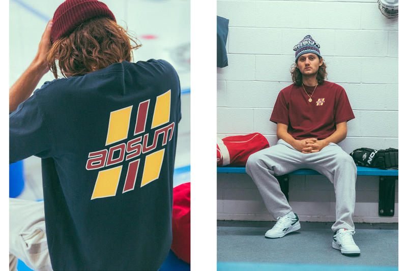 Adsum Fall Winter 2018 Collection Lookbook 1972 summit series hockey canada russia