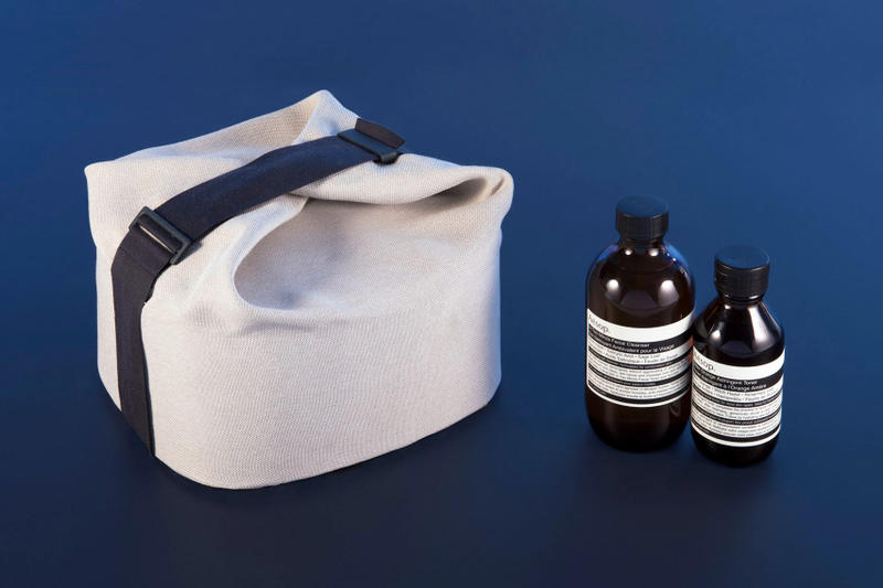Aesop Oil Diffusers Wash Bags Designed ÉCAL Students Design Advanced Studies in Design for Luxury and Craftmanship Switzerland Skincare Cosmetics Accessories