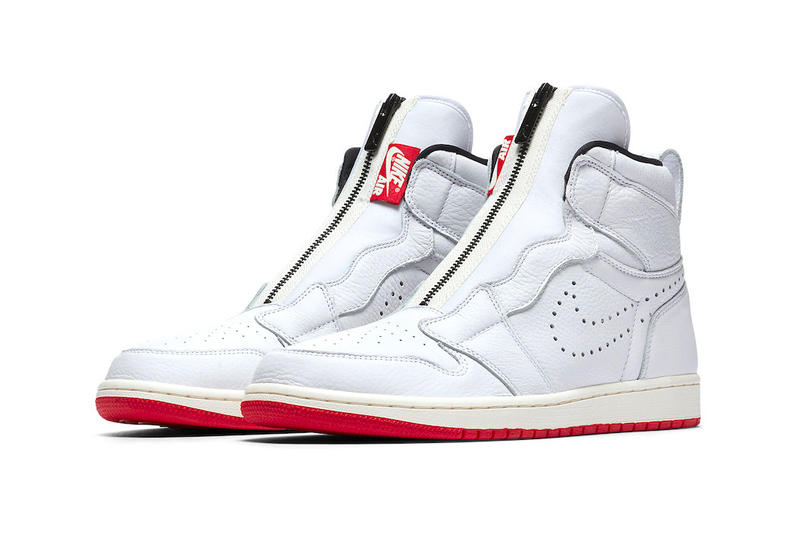 Jordan Brand Air Jordan 1 High Zip Men's Sizing release info Available Black Hyper Royal White University Red