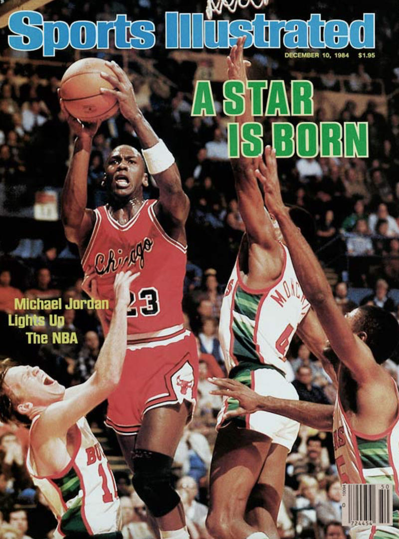 "Air Jordan 1 ""Sports Illustrated"" Michael Jordan Cover Issue"
