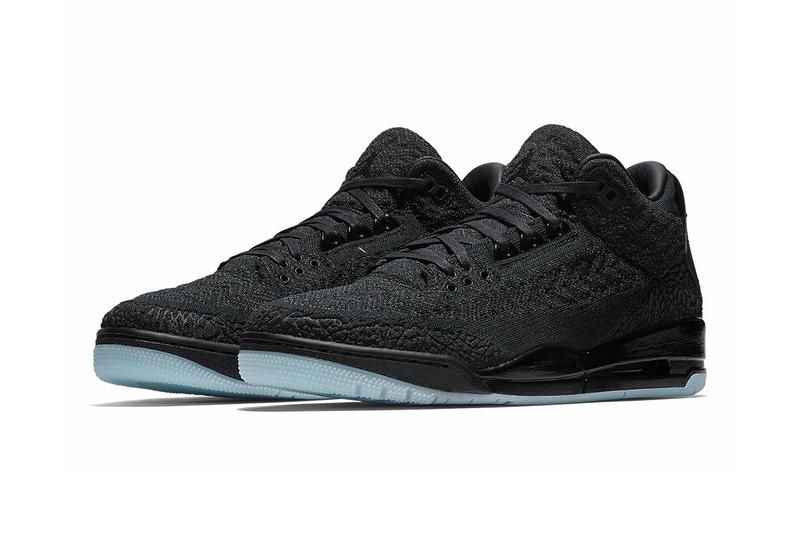Air Jordan 3 Flyknit Official Release Date Nike SNKRS Drop Info Black Cat
