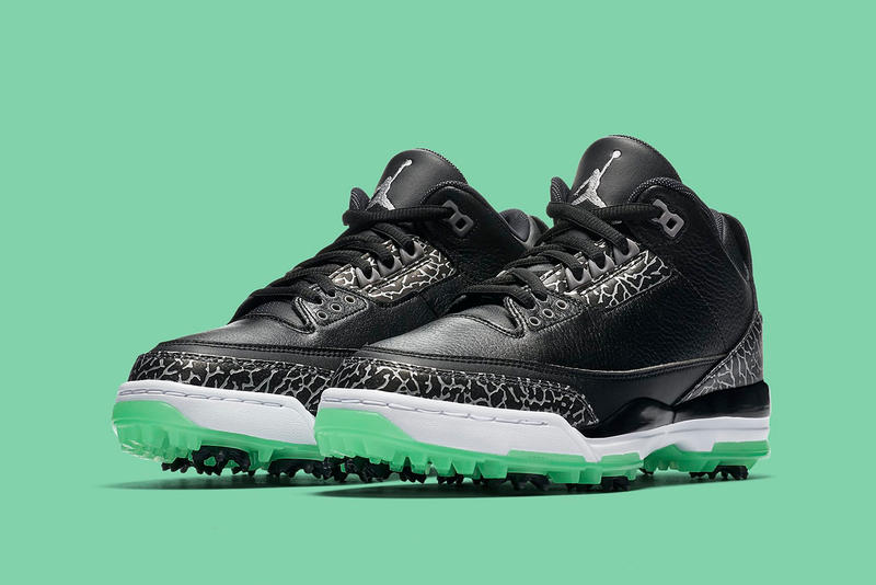 Air Jordan 3 Golf Green Glow jordan brand sneakers michael jordan nike