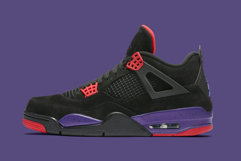 "Here s Where You Can Cop the Air Jordan 4 ""Raptors"" dc581637a"