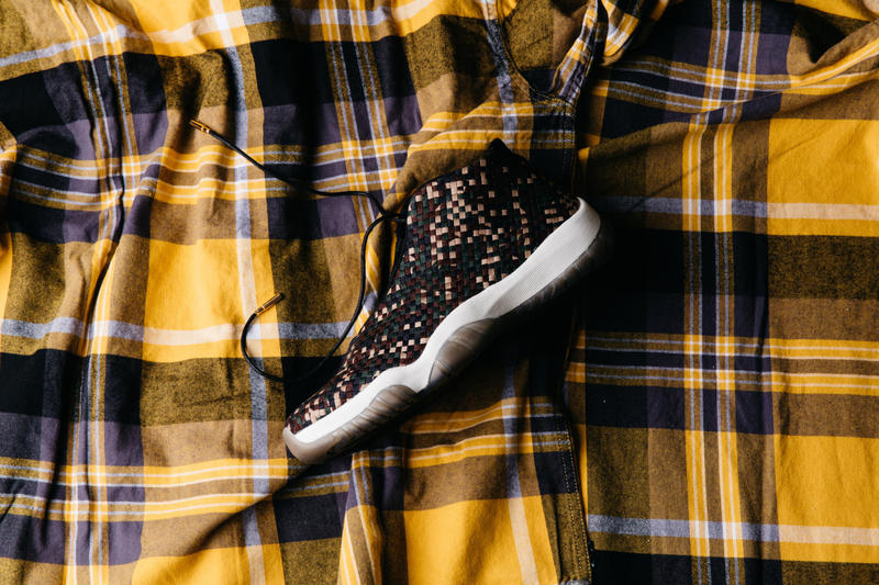 Air Jordan Future premium nike Woven Camo dark army sail black new 2018 august buy nike sneaker politics