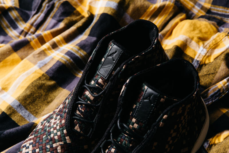 Air Jordan Future premium nike Woven Camo dark army sail black new 2018 august buy nike sneaker politics