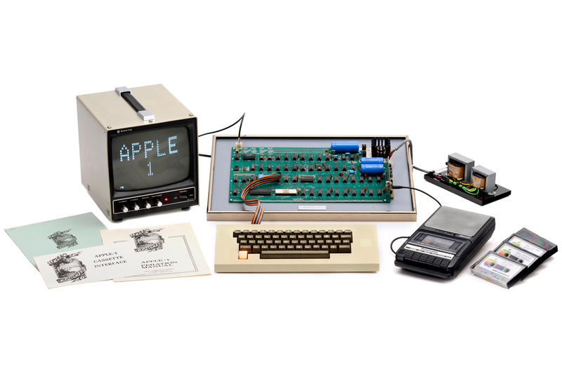 Apple-1 Auctioned Steve Jobs and Steve Wozniak Apple MacRumors WeWorks Boston Corey Cohen