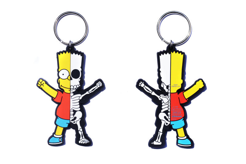 atmos LAB The Simpsons Secret Base Keychains fox accessories toys