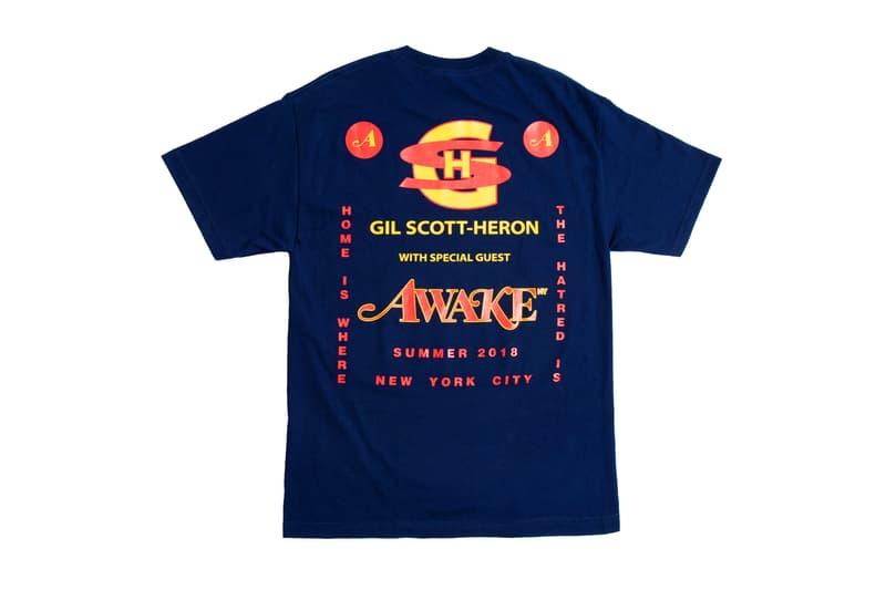 Awake NY Mid-Summer 2018 T-Shirts Nas Goldfish Socks Keychains Ether