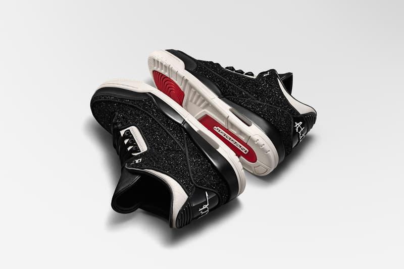 awok air jordan 3 anna wintour vogue 2018 september black red footwear