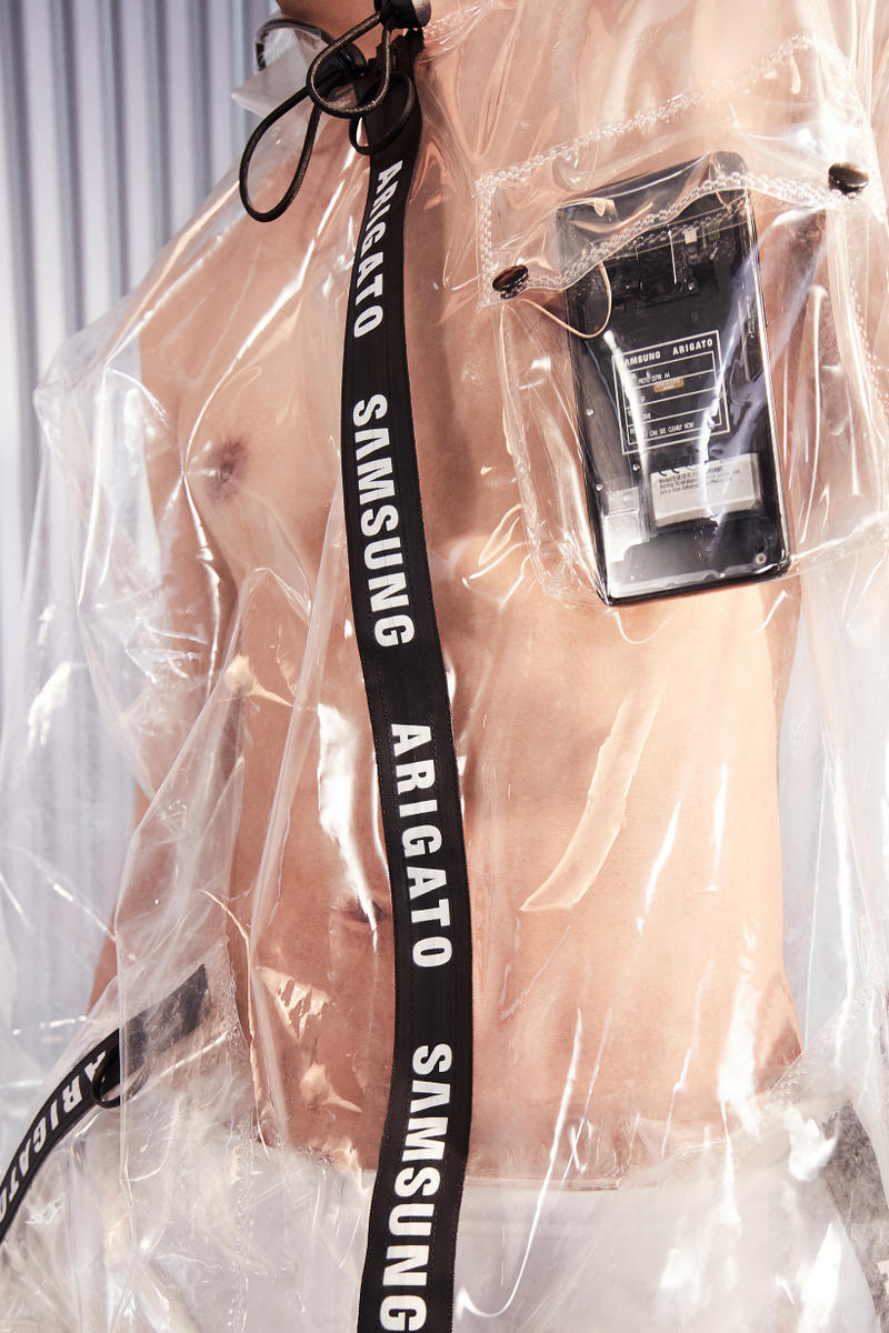 Axel Arigato Samsung Transparent Collaboration See Through Capsule Collection Teyana Taylor