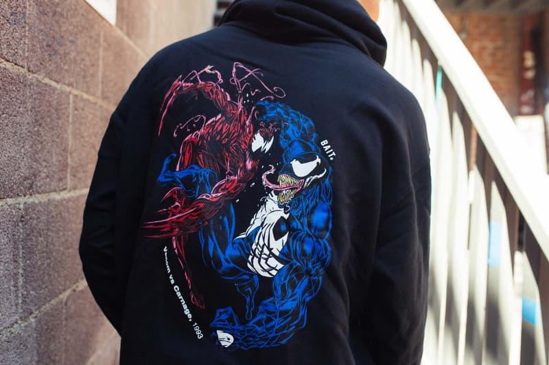 BAIT x Marvel Series II Tees W/ Thanos Carnage Venom Ghost Rider