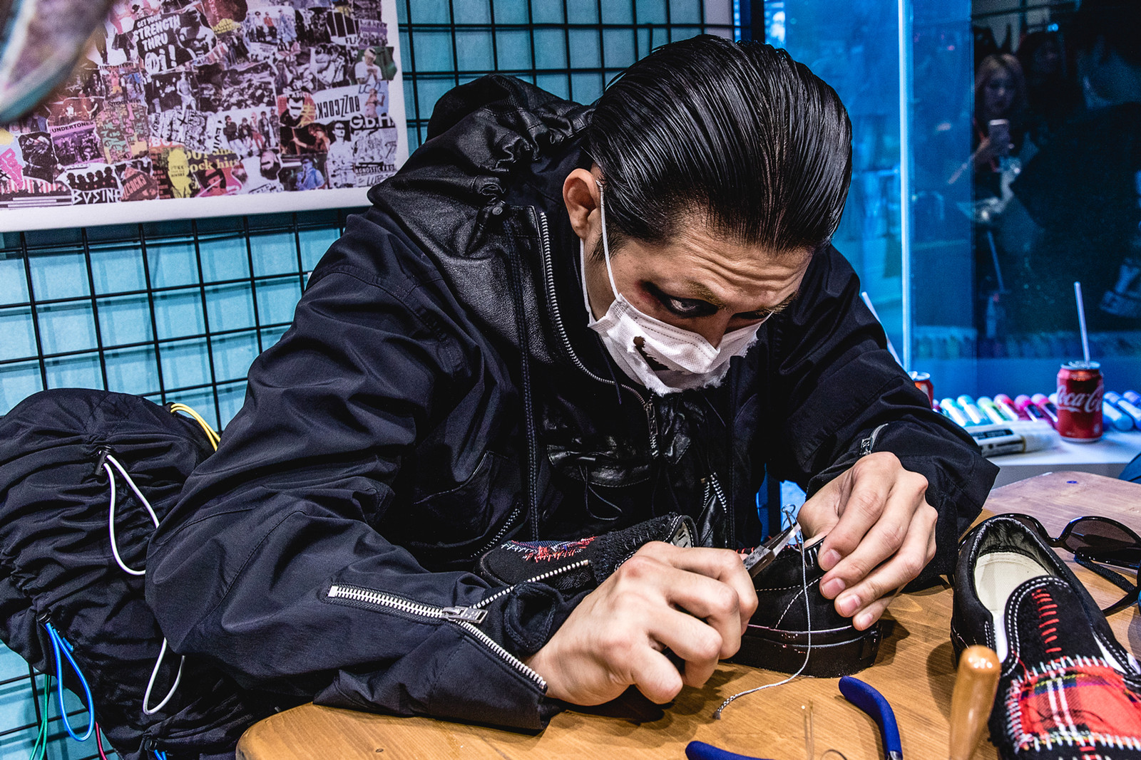 Bajowoo 99%IS- percentis vans customization interview I.T EXI.T The Grail Room Sneaker Pop Up