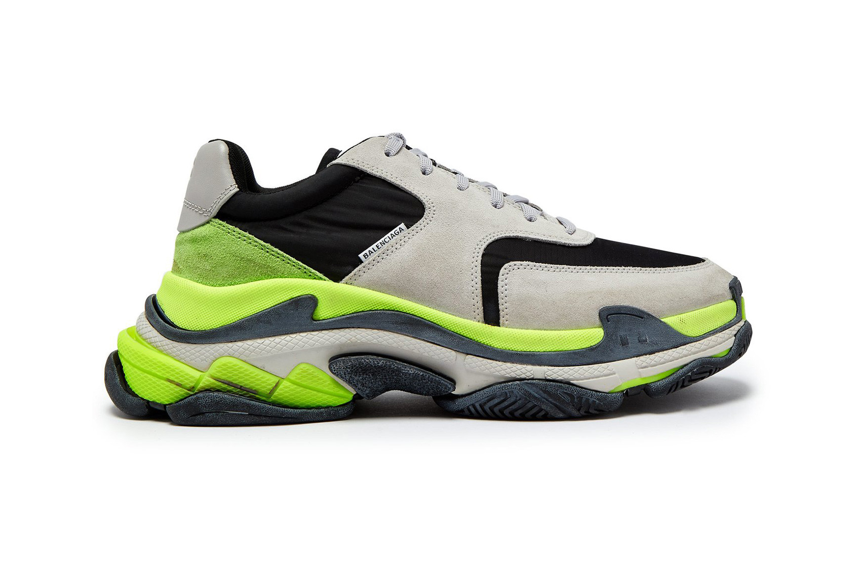 Balenciaga Triple S Neon Green NEW WiTH BOX N DUST