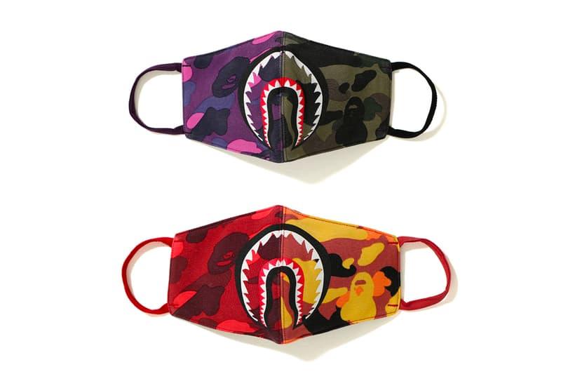 bape a bathing ape shark mask