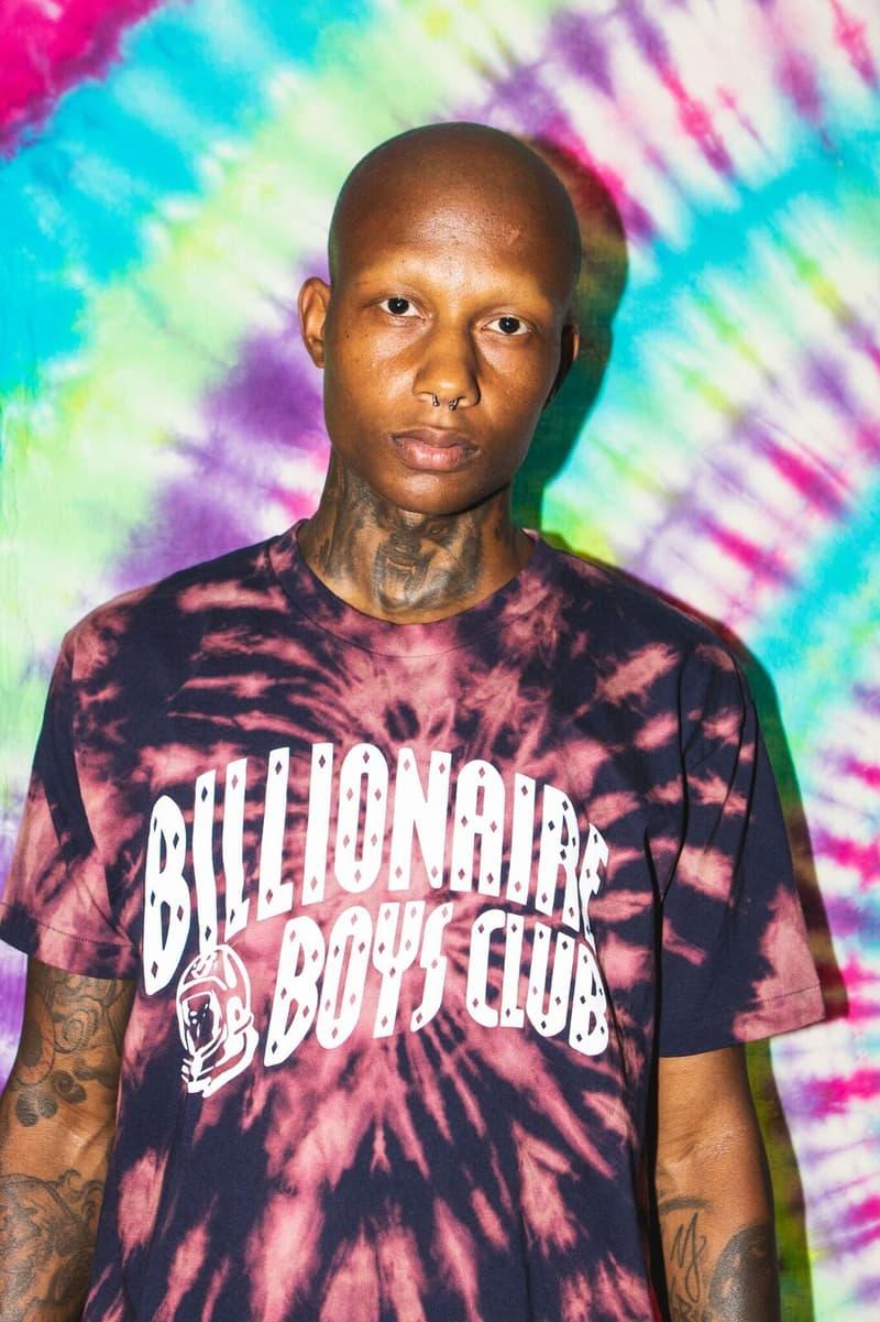 billionaire boys club bbc 2018 lab tie dye capsule collection t shirt new summer custom new york city exclusive