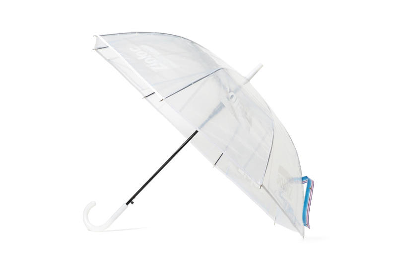 beams couture ray ziploc collaboration bags hats umbrella see through transparent plastic