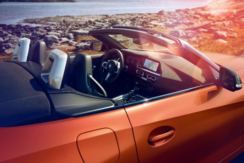BMW 2019 Z4 M40i Car Details Pebble Beach Debut Available Automotive unveil debut first look official sportscar august 23 2018 full reveal images pictures