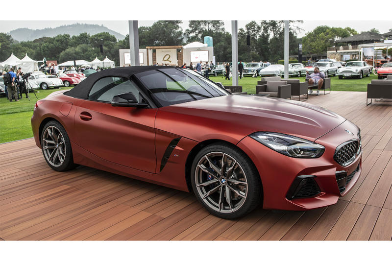 Bmw Z4 M40i Roadster First Edition Debut Hypebeast