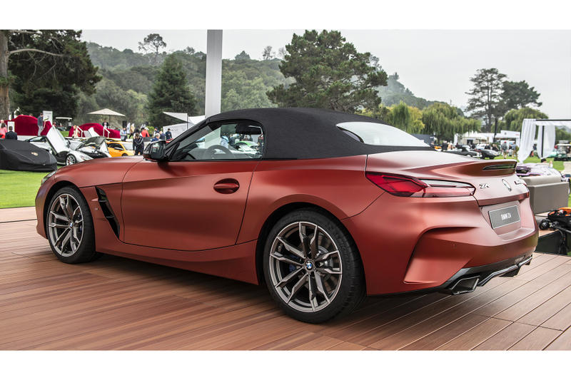 BMW Z4 M40i Roadster First Edition Super Car 2019 pebble beach