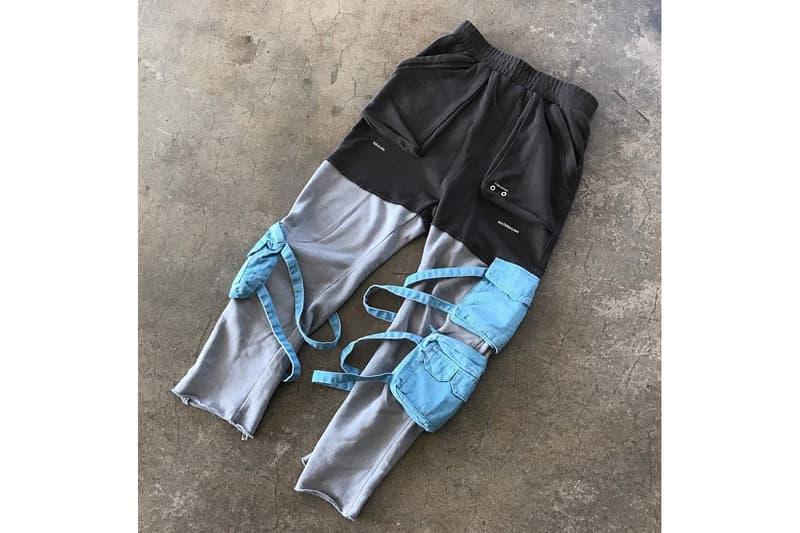 C2H4 Number (N)ine Collaboration guitar bags deums belt boots sweatpants
