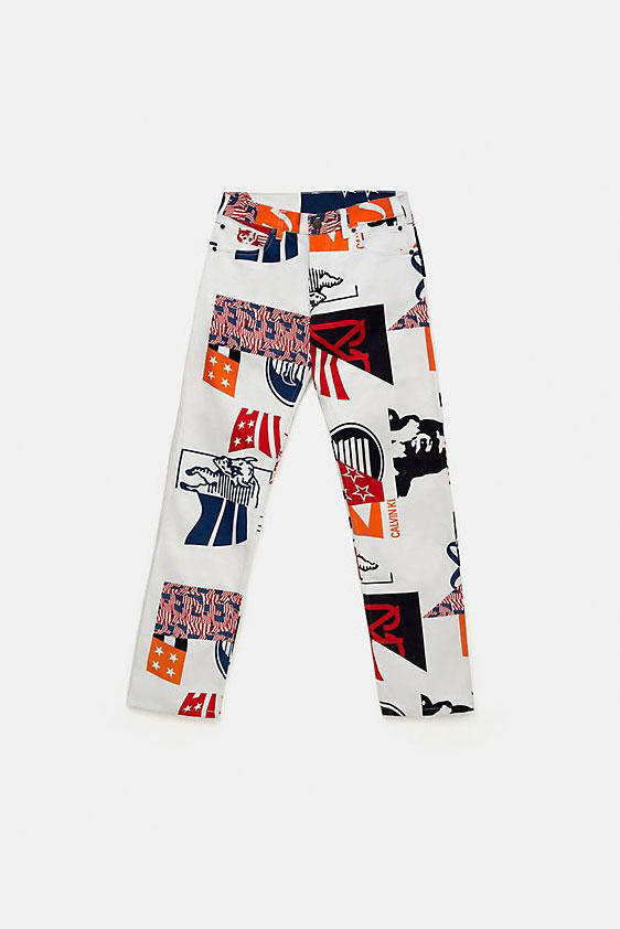Calvin Klein Jeans EST. 1978 Printed Collection 2018