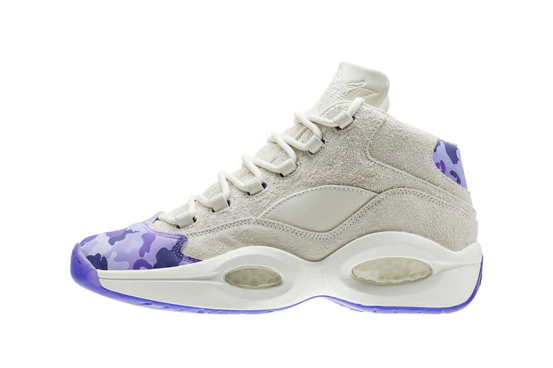 2de7a8d90f69ab Cam ron Reebok Question Dipset Purple Camo Colorway Release Date Shoes  Sneakers Trainers Kicks