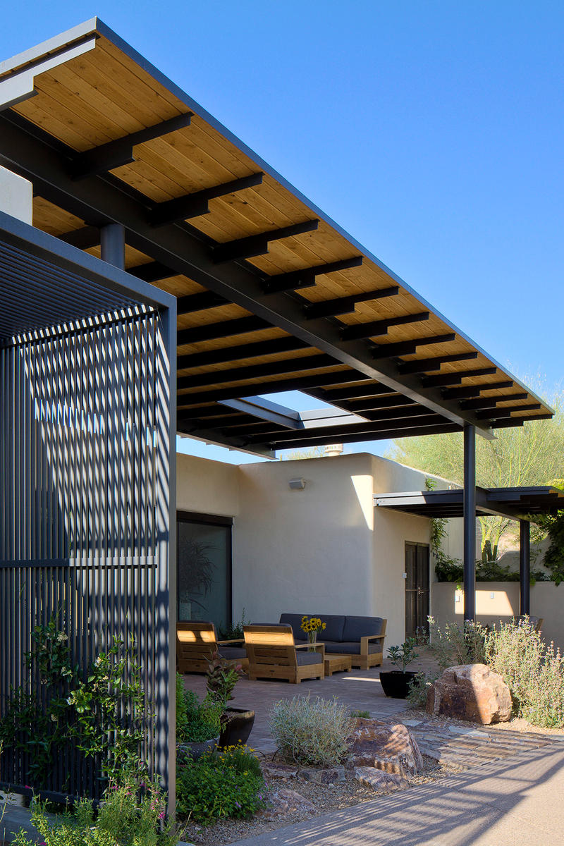 Canopy House Rob Paulus Architects Tuscon United States Architecture Design Homes Houses Modern Interior Exterior Swimming Pool