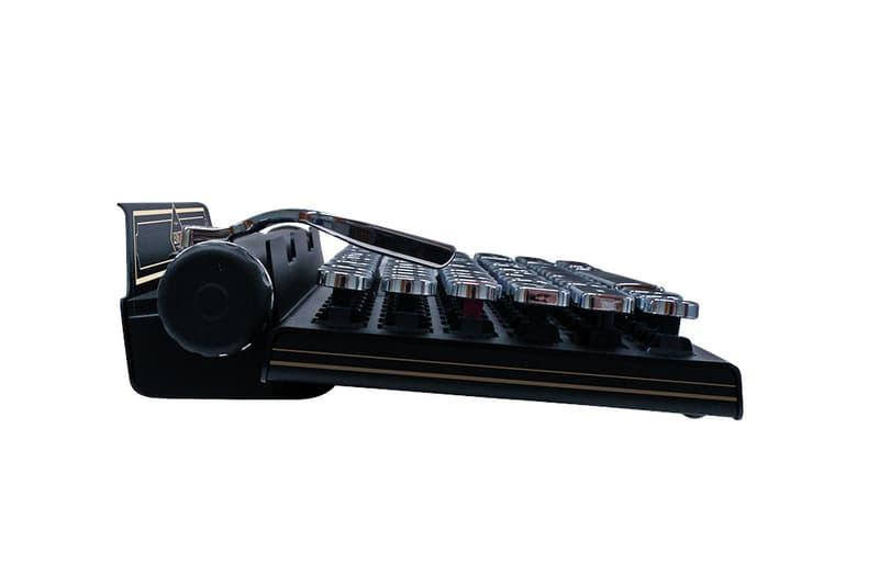 Capcom Releases a Lexington Typewriter Keyboard games bio hazard PS4 gaming playstation sony Japan Zombies Umbrella Corp